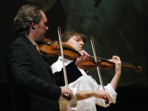 Joshua Bell & Mark O'Connor to benefit Chimes