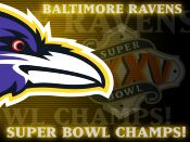 Super Bowl Party for  The Baltimore Ravens at Mara Maru